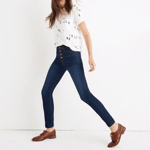 """Madewell Jeans - madewell 9"""" mid rise skinny jeans"""
